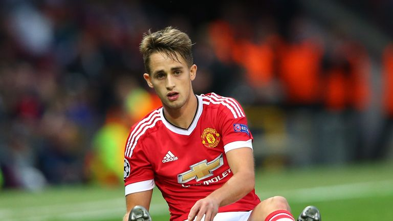 Adnan Januzaj has been in and out of the Manchester United side