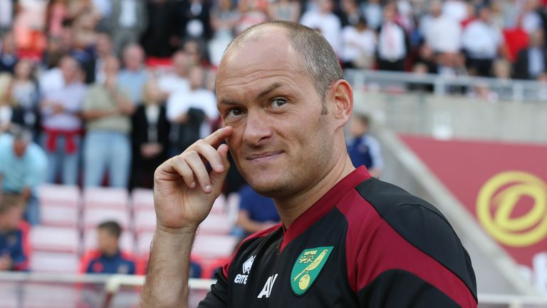Alex Neil led Norwich to promotion from the Championship