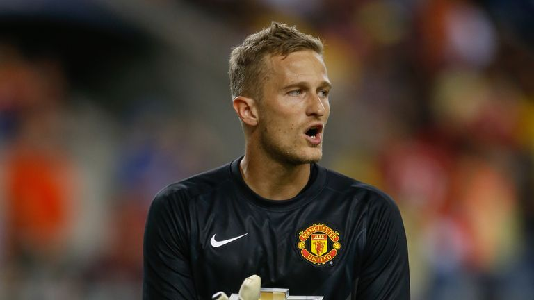 Manchester United's Anders Lindegaard has signed for West Brom