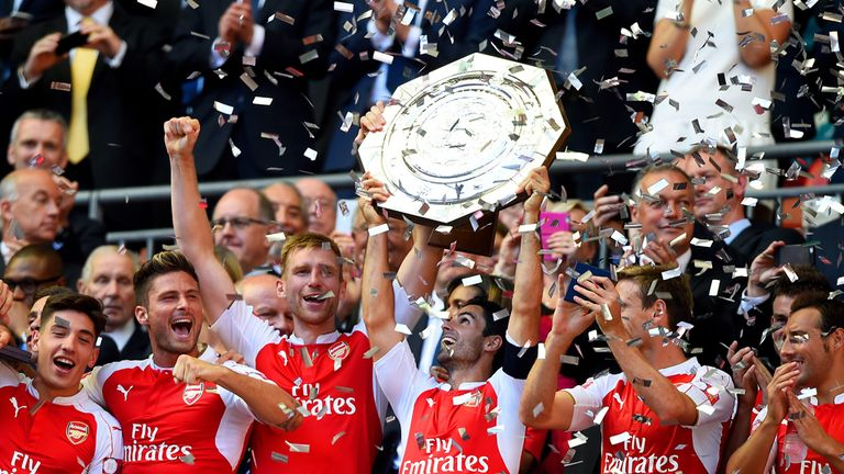 Wenger hopes Arsenal's win over Chelsea in the Community Shield will help banish any mental block within his players