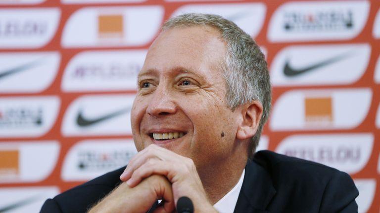The vice president of the AS Monaco Vadim Vasilyev