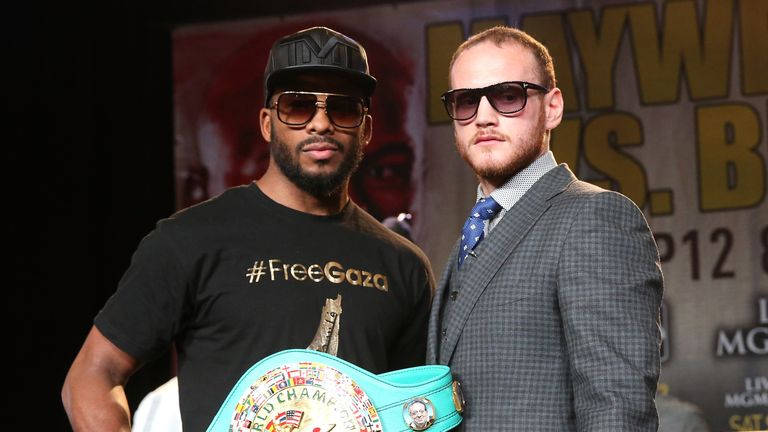Badou Jack (left) says he and George Groves will go to war on September 12