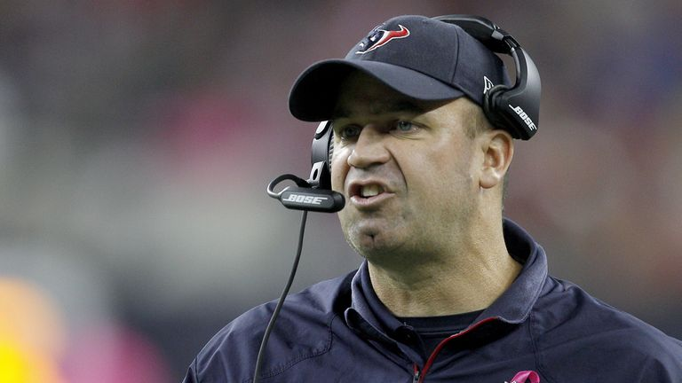 Texans head coach and general manager Bill O'Brien was fired after losing the first four games of the season