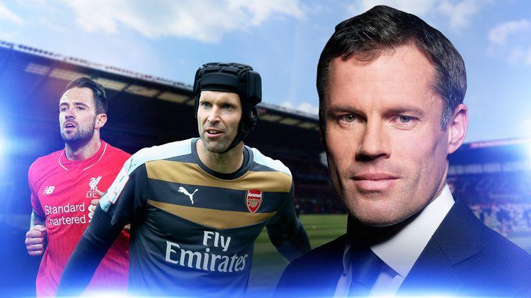 Jamie Carragher previews Arsenal v West Ham and Stoke v Liverpool