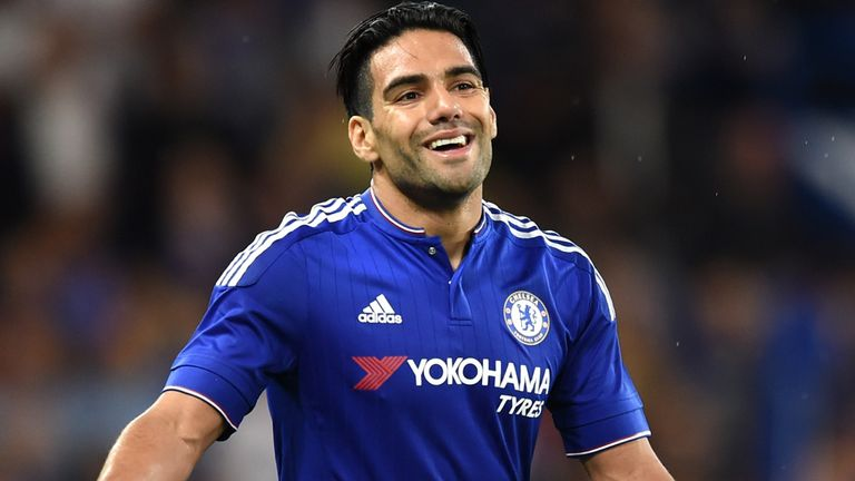 Radamel Falcao could start in place of Diego Costa, who is suffering from a hamstring problem