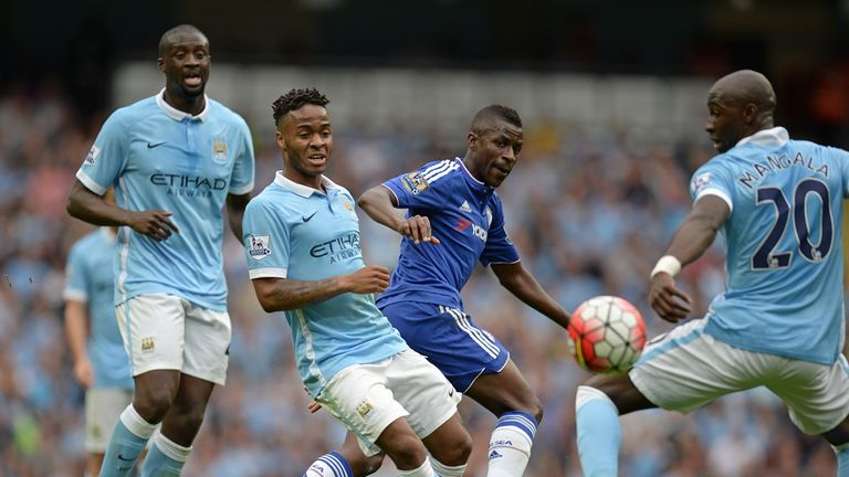 Ramires - now playing in China - was in Chelsea's line-up against Manchester City in August 2015