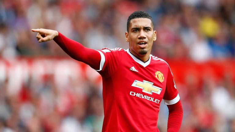 Chris Smalling of Manchester United