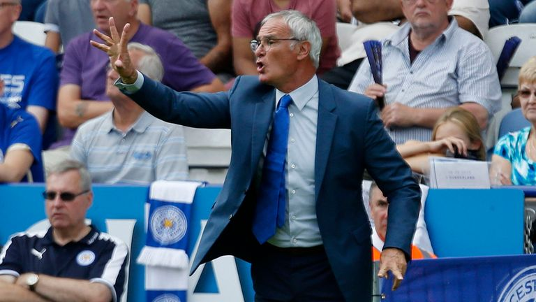 Claudio Ranieri's Leicester are fifth in the Premier League ahead of a clash with Crystal Palace