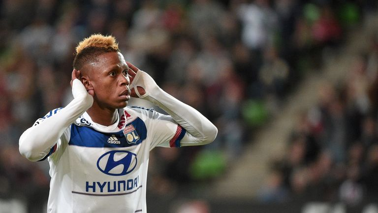 Clinton Njie is the latest product of Lyon's famed academy