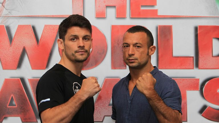 Stephen Smith (left) against Devis Boschiero will be the hardest one to watch, says Paul