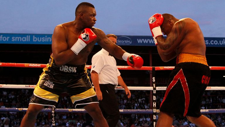 Dillian Whyte made short work of Irineu Costa