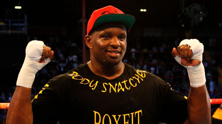 Dillian Whyte is looking to book a date with Anthony Joshua
