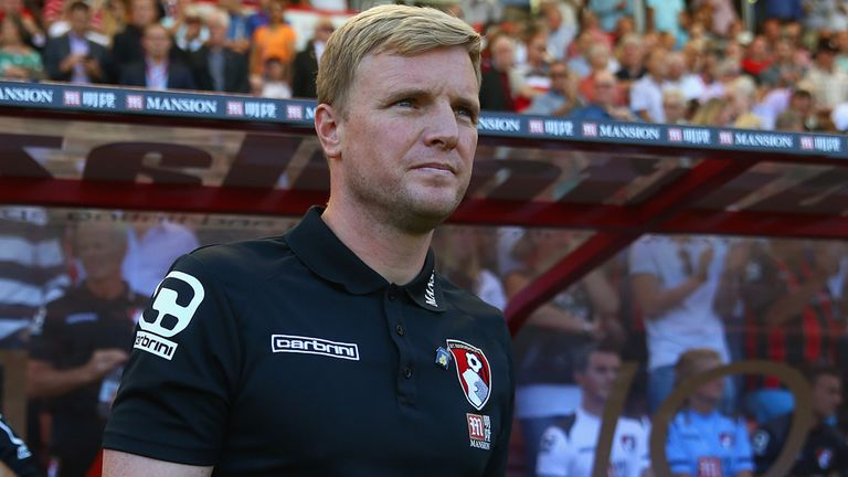 Eddie Howe says Bournemouth aren't a selling club