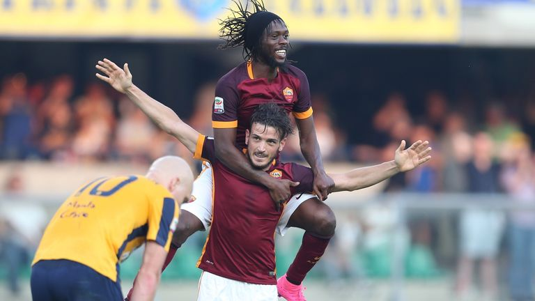 Roma's midfielder from Italy Alessandro Florenzi