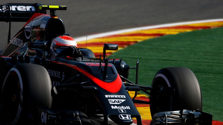 Jenson Button was embarrassed by McLaren's performance in Belgium
