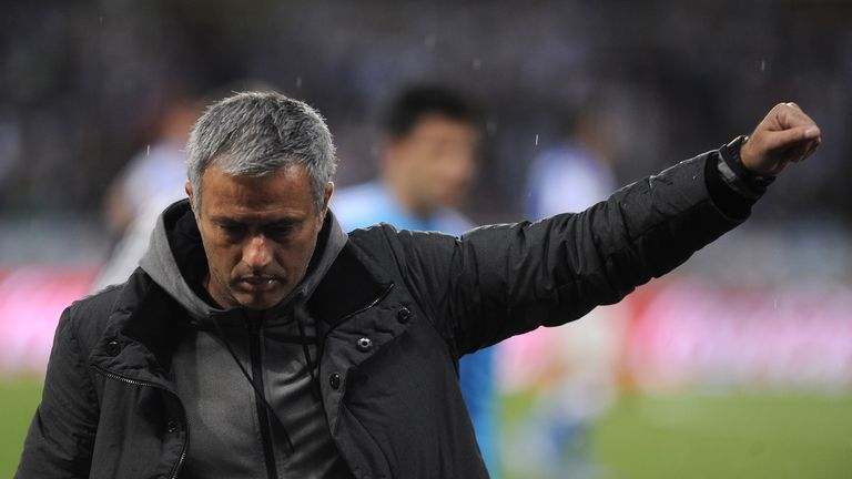 Mourinho left Real Madrid under a cloud in 2013