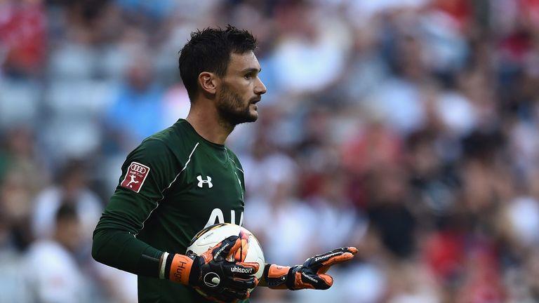 Hugo Lloris returned to action against Milan