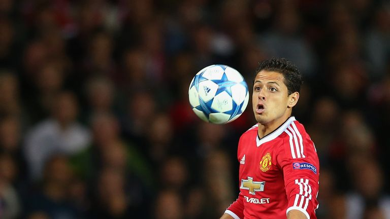 Javier Hernandez is poised to leave Manchester United