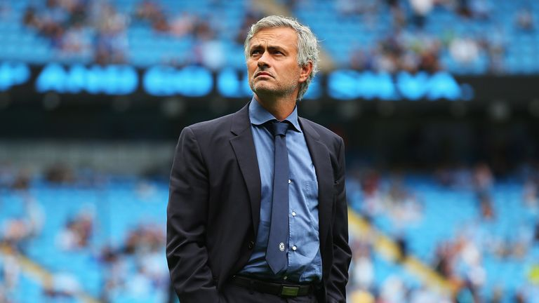 Jose Mourinho was sacked by Chelsea four months after defeat to Man City