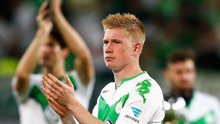 Kevin De Bruyne of VfL Wolfsburg