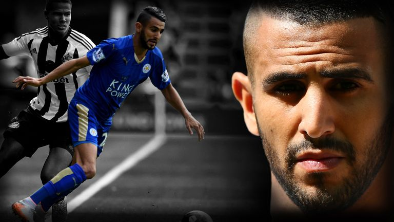 Riyad Mahrez has been one of the stars of the Premier League season