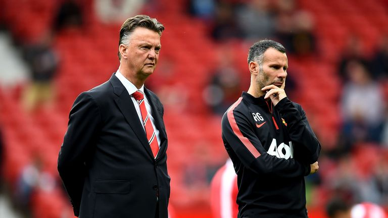 Louis van Gaal and Ryan Giggs are entering their second season in charge of Manchester United.