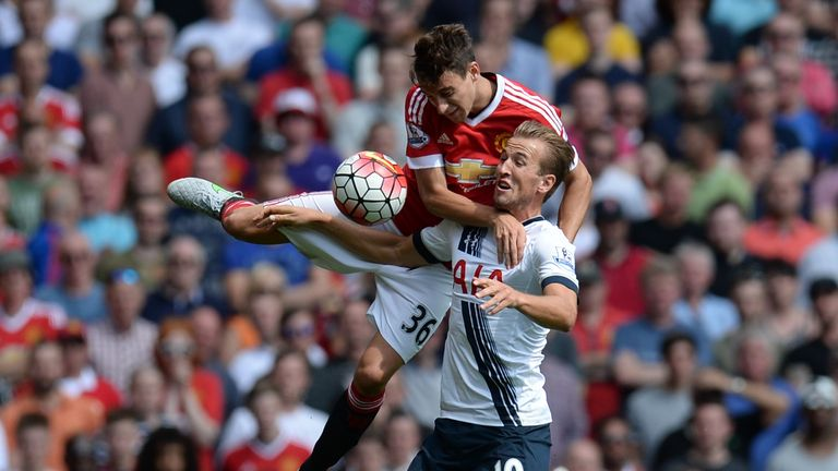 Matteo Darmian impressed at right back