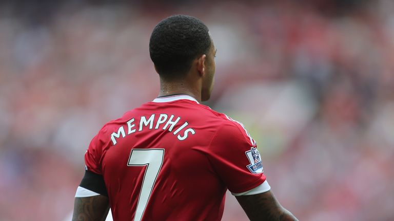 Memphis Depay: Made his debut at Old Trafford as  Manchester United defeated Tottenham.