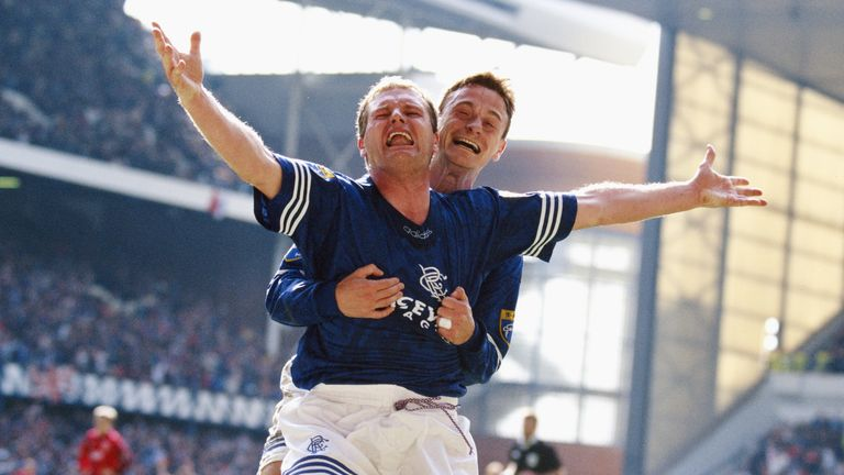 Paul Gascoigne played for Rangers between 1995 and 1998