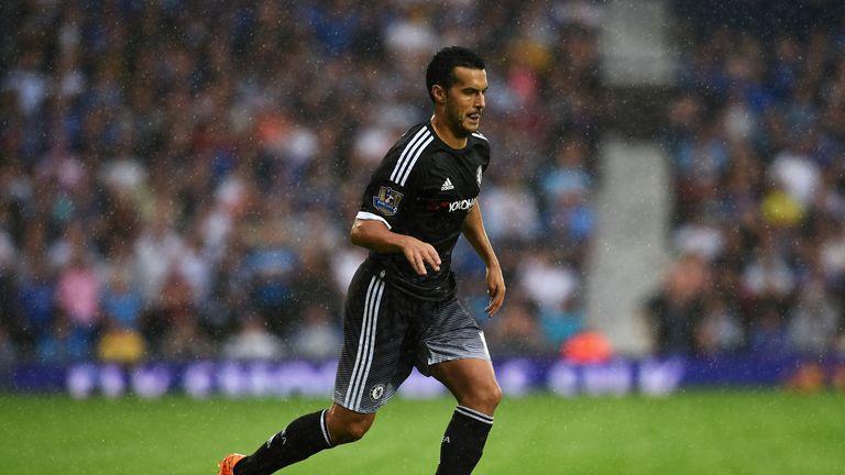 Pedro makes his Chelsea debut