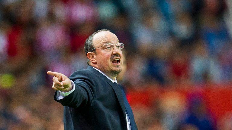 Rafael Benitez of Real Madrid