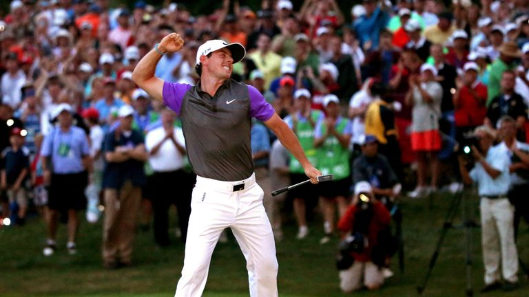 Rory McIlroy followed up a big win in 2012 with a narrow victory two years later