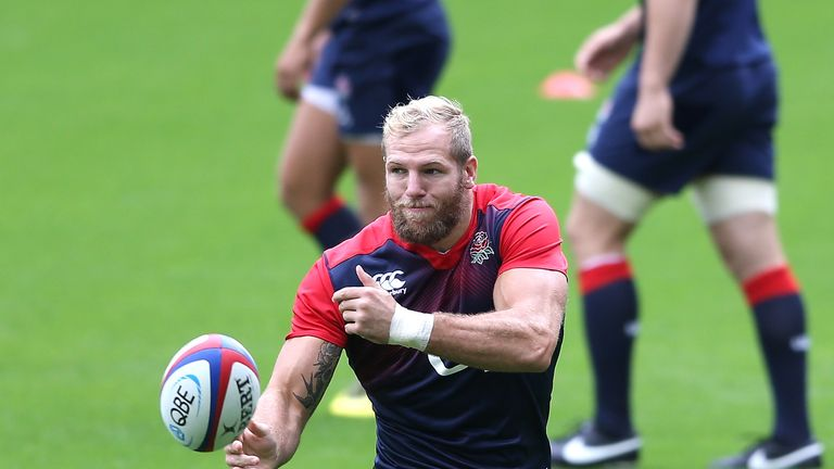England flanker James Haskell spent a year playing in New Zealand before returning to Wasps