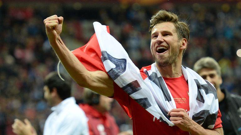 Sevilla's Polish midfielder Grzegorz Krychowiak