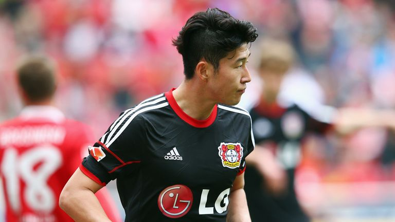 Son spent two seasons with Leverkusen