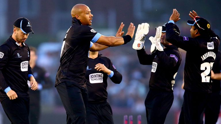 Tymal Mills: has pace and plenty of it but just misses out