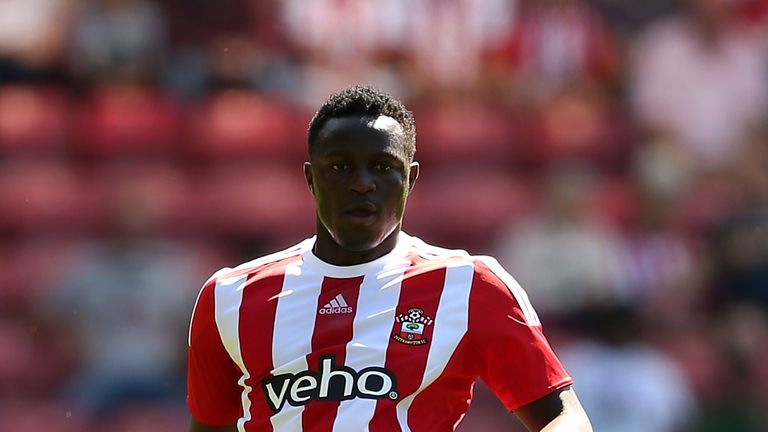 Victor Wanyama of Southampton in action