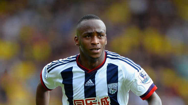 West Brom striker Saido Berahino