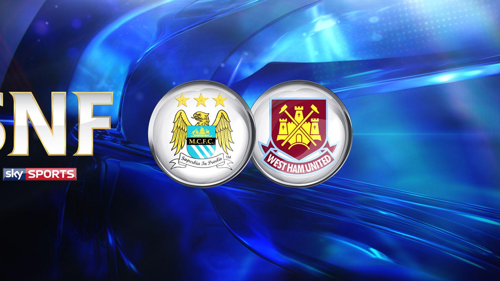 Live match preview - Man City vs West Ham 19.09.2015