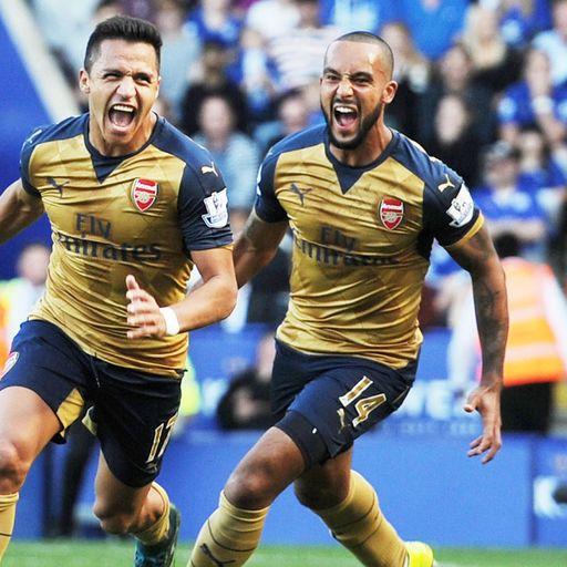 Leicester 2-5 Arsenal