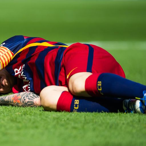 Messi facing two-month lay-off