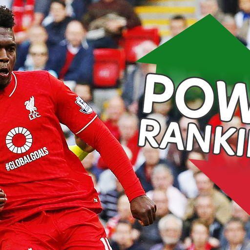 Sturridge's Power Rankings surge