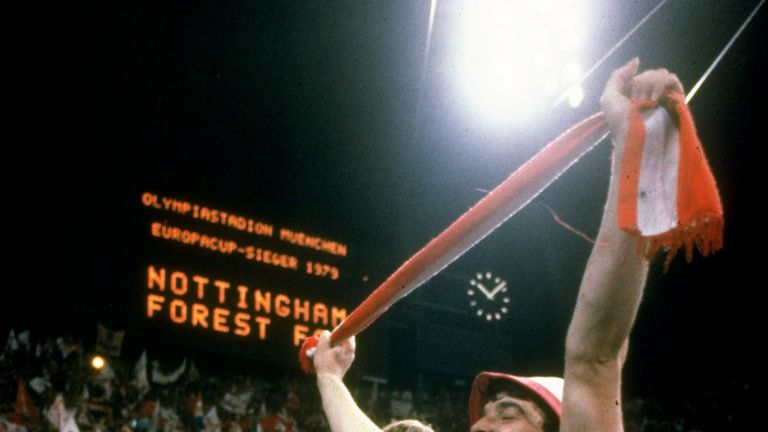 John Robertson played a pivotal role in both of Forest's European Cup wins