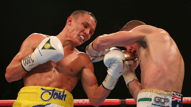 The Leeds man tried to force a stoppage in the closing rounds
