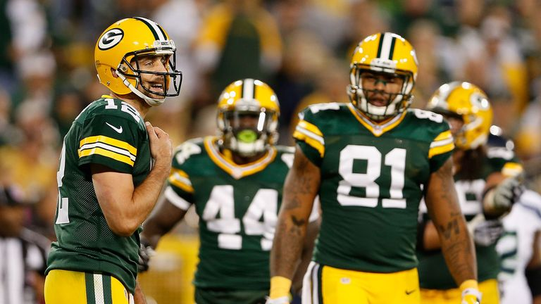 Aaron Rodgers has a dominant record at Lambeau Field