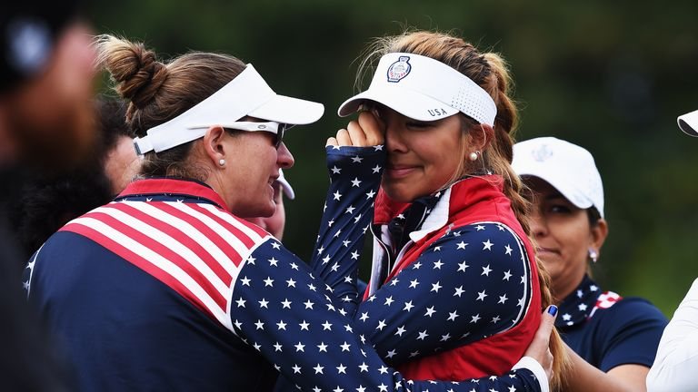 Alison Lee was reduced to tears by the incident in Sunday morning's fourballs