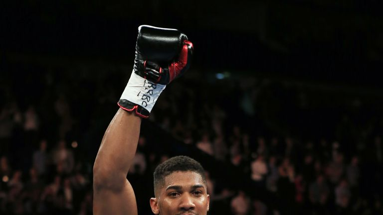 Anthony Joshua won the Commonwealth Heavyweight title against Gary Cornish earlier this month