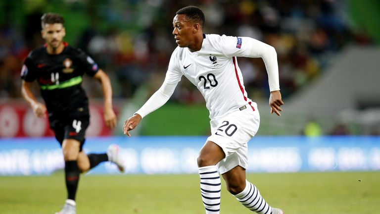 France's player Anthony Martial