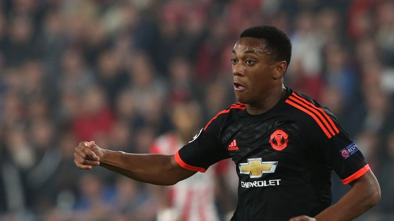 Anthony Martial has started brilliantly at Manchester United