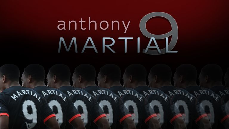 Martial has made an impressive start as Manchester United's new No 9